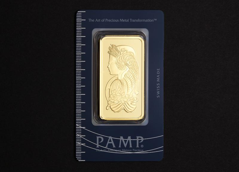 50 g Investment Gold Bar PAMP Fortuna