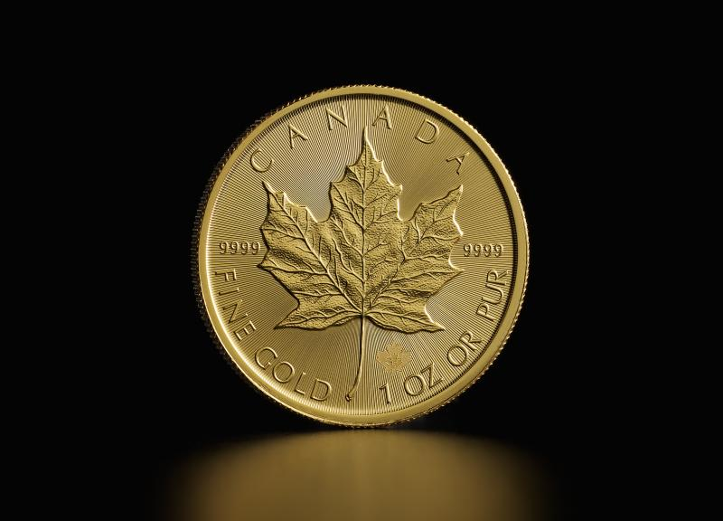 1 oz Canadian Maple Leaf