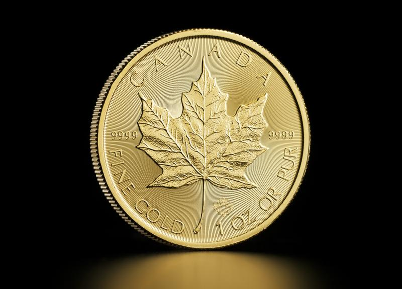 1 oz Canadiske Maple Leaf