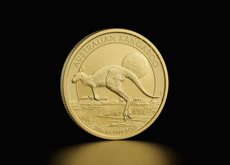 1 oz Australske Nugget/Kangaroo