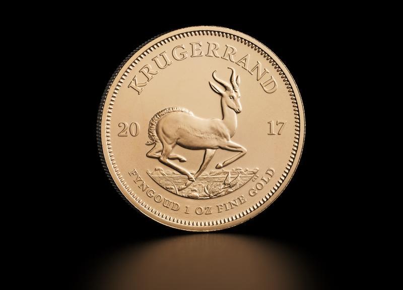 1 oz Sydafrikansk Krugerrand Guldmønt