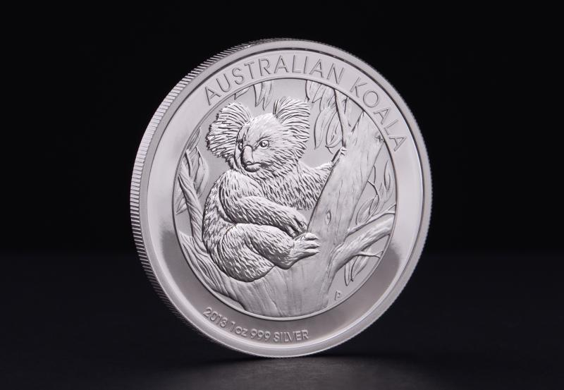 2013 1 oz Australsk Koala Sølvmønt