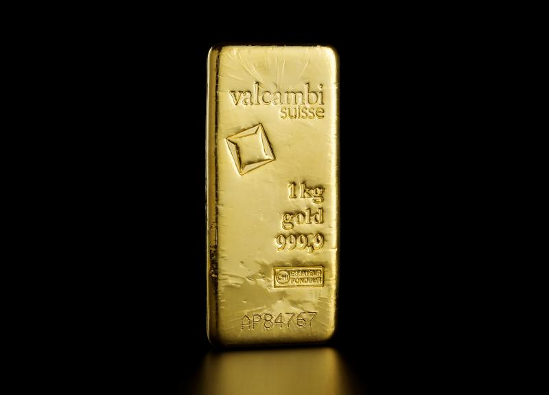 1 kg Valcambi Minted Gold Bars