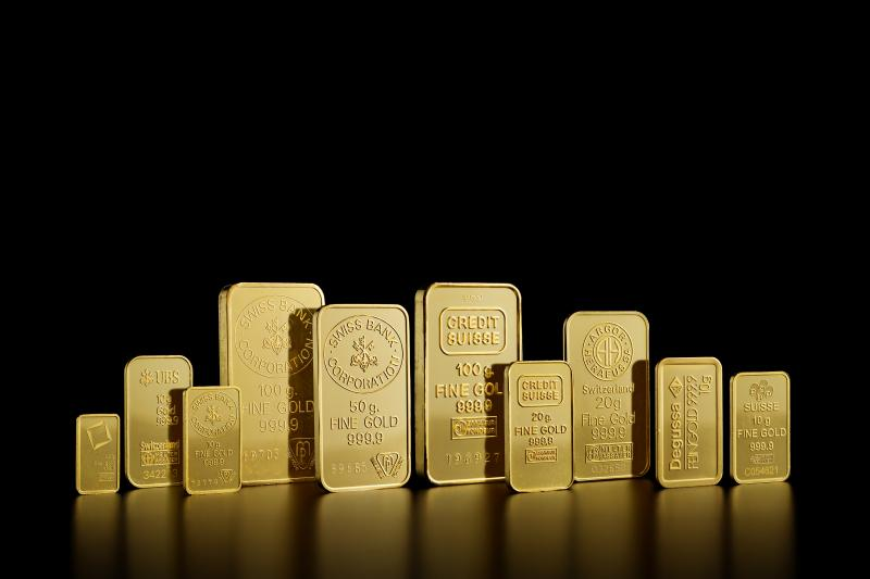 2.5 g Circulated Gold Bars
