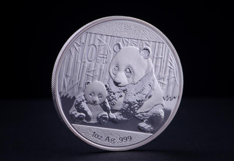 2011 1 oz Silver Coin China Panda