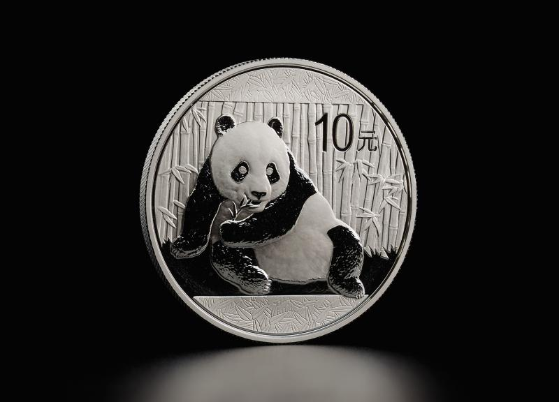 2015 1 oz Silver Coin China Panda