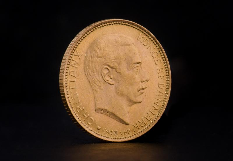 Danske 10 kroner – Christian IX, Frederik VIII & Christian X