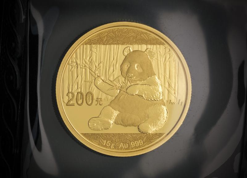 2017 Chinese Gold Panda 15 g