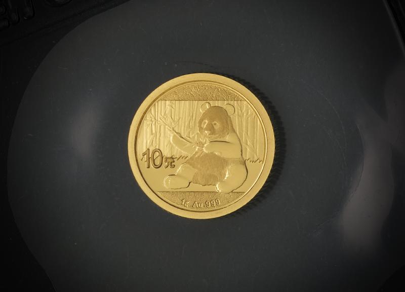 2017 Kinesisk Guld Panda 1 g