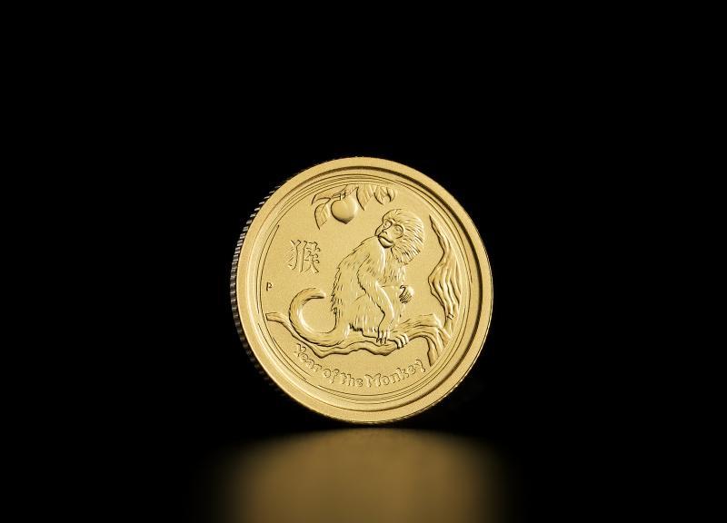 2016 1/20 oz Australsk Lunar Abens År Guldmønter