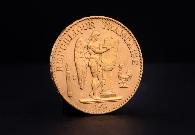 French 20 Francs Angel