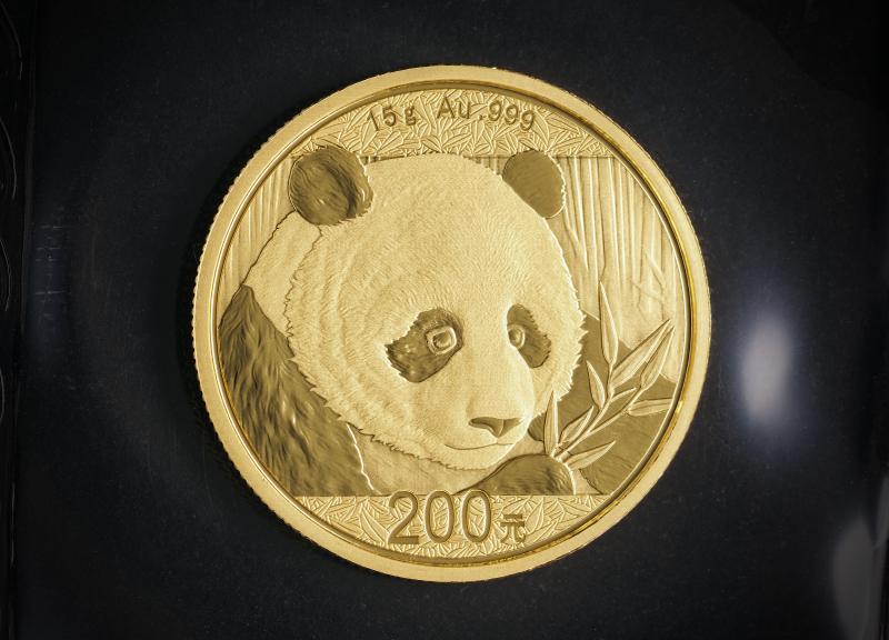 2018 Kinesisk Guld Panda 15g