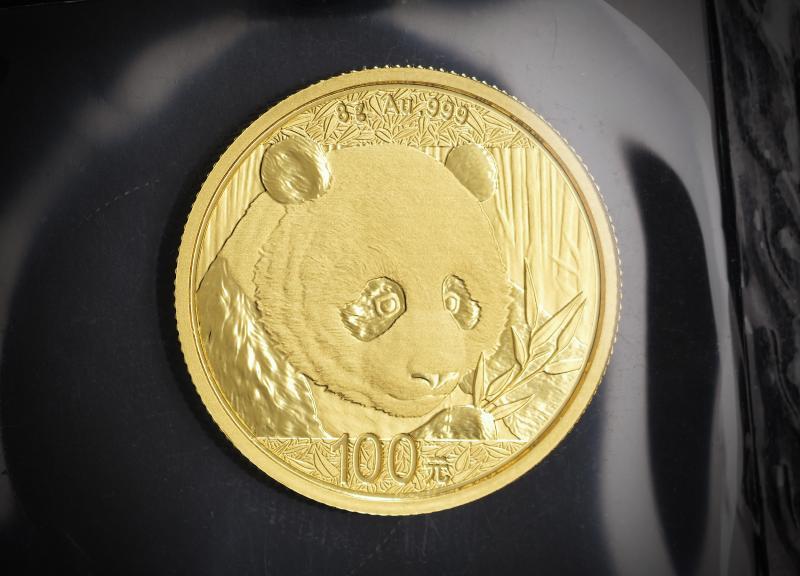 2018 Kinesisk Guld Panda 8g