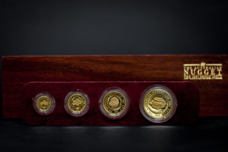 Rare 1987 Australian Nugget set