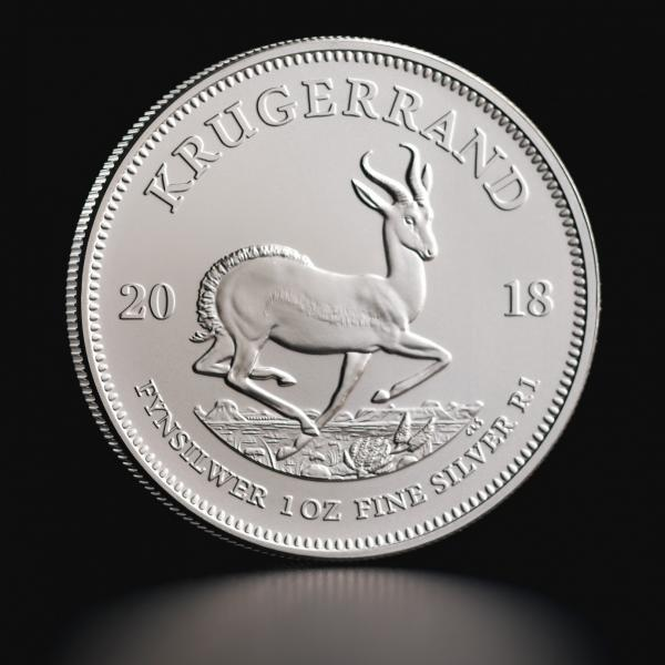 1 oz Silver Coin South African Krugerrand