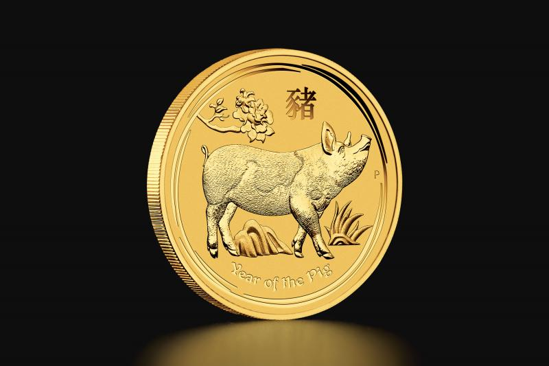 2019 1 oz Australian Lunar Year of the Pig