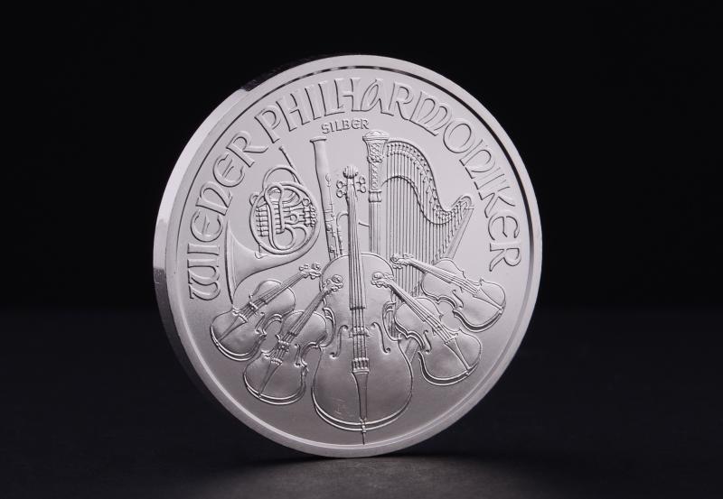 Sølvmynt Østerriksk Philharmoniker 1 oz