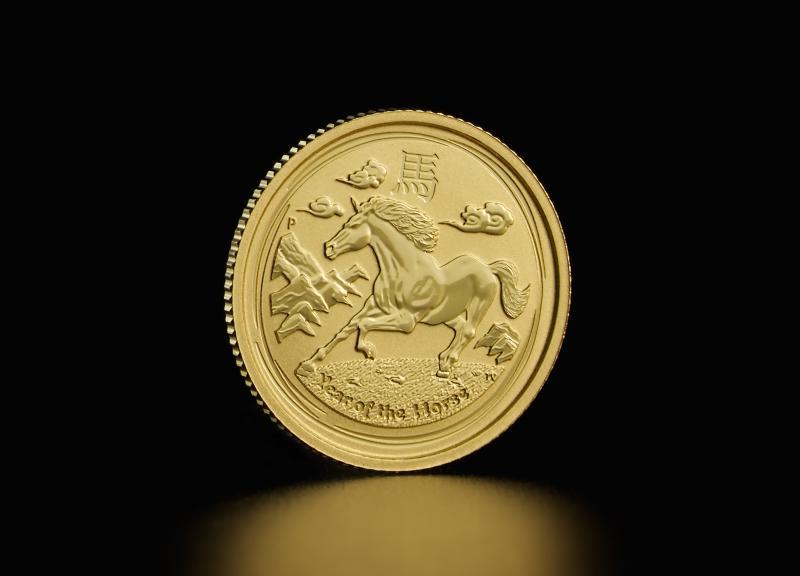 Australian Lunar 2014 – Horse 1/10 oz