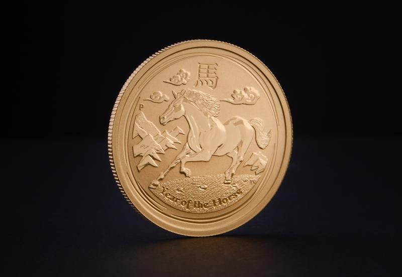Australian Lunar 2014 – Horse 1/4 oz