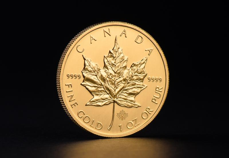 Kanadisk Maple Leaf 1 oz