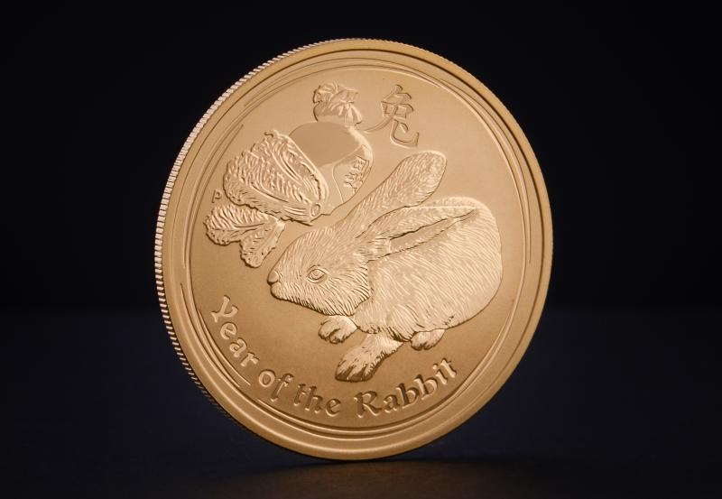 Australian Lunar 2011 – Rabbit 1/4 oz