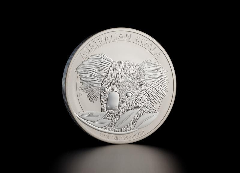 Sølvmynt Australsk Koala 2014 1 kg