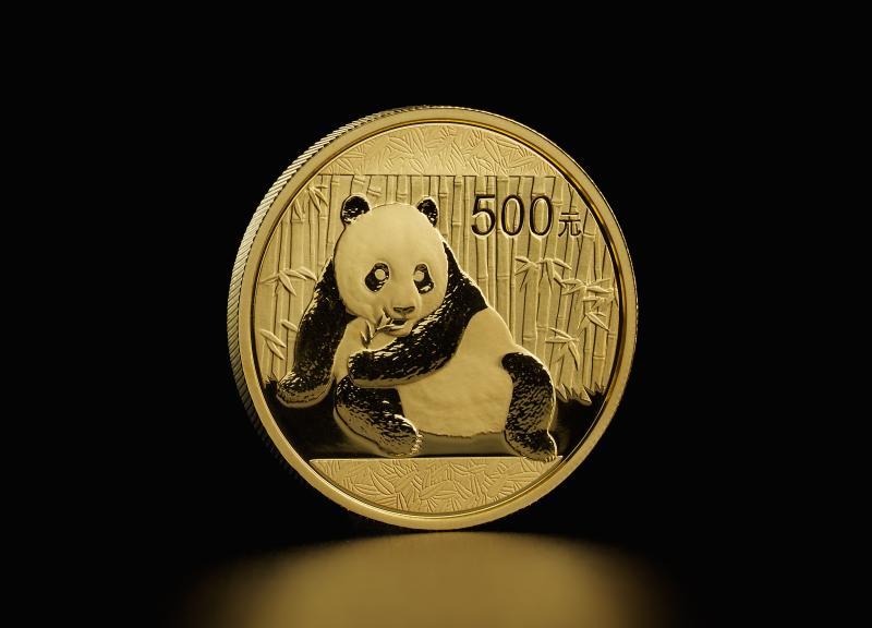 Kinesisk Panda 2015 1 oz