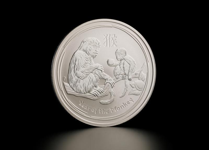 Sølvmynt Australsk Lunar 2016 1 oz