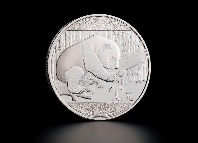 Sølvmynt Kinesisk Panda 2016 30 g