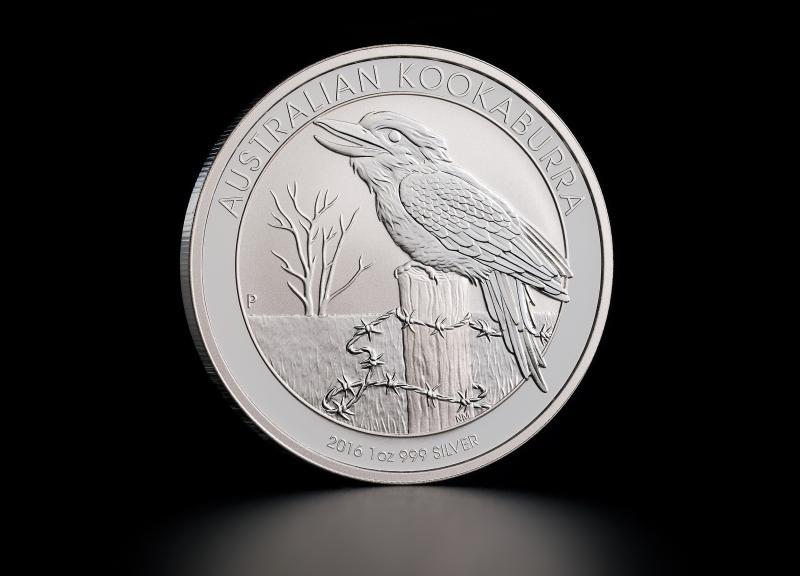 Sølvmynt Australsk Kookaburra 2016 1 oz