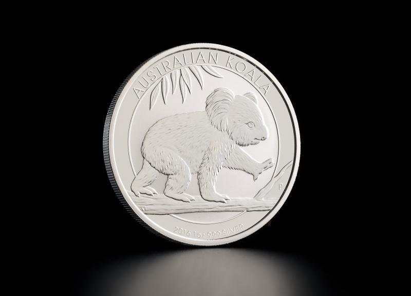 Silver Coin Australian Koala 1 oz (previous years)