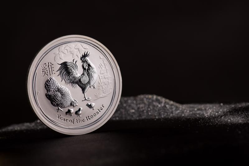 Sølvmynt Australsk Lunar 2017 1 oz