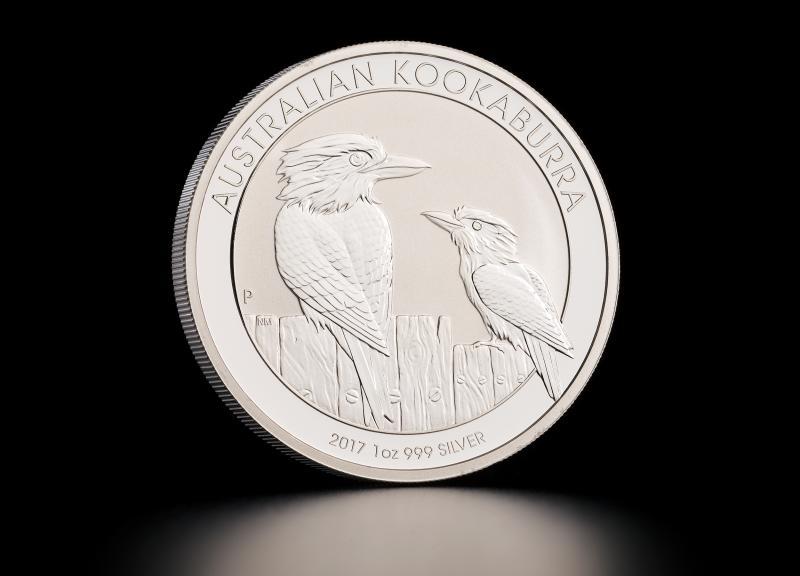 Sølvmynt Australsk Kookaburra 2017 1 oz