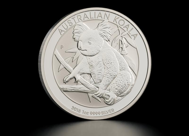Sølvmynt Australsk Koala 2018 1 oz