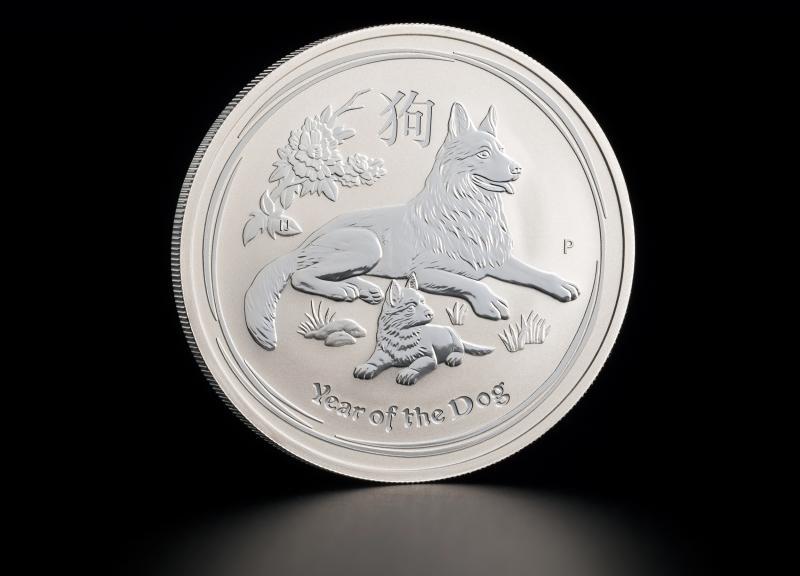 Silver Coin Australian Lunar 2018 1 oz