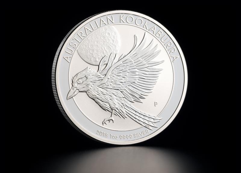 Sølvmynt Australsk Kookaburra 2018 1 oz
