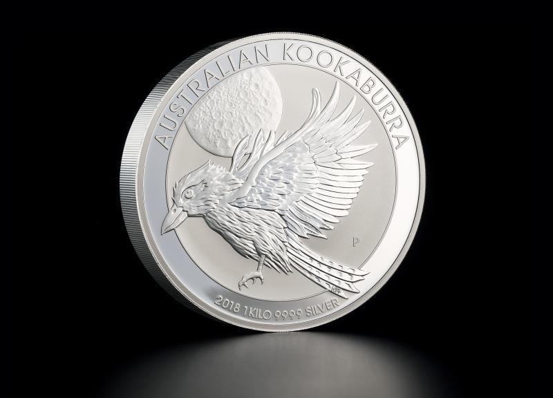Sølvmynt Australsk Kookaburra 2018 1 kg