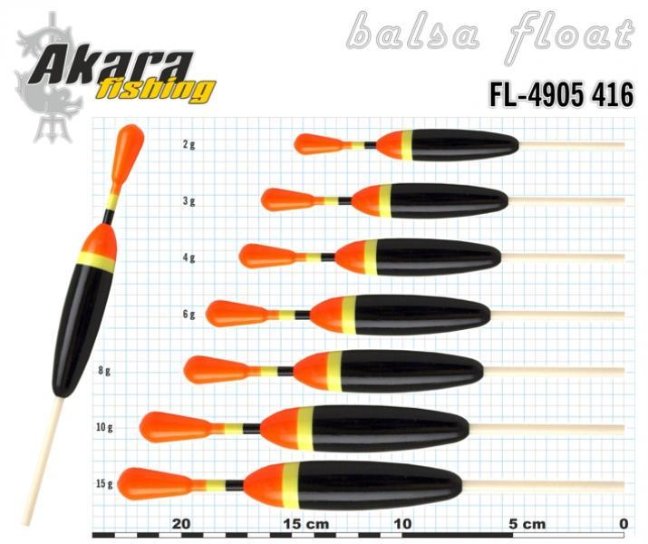 Ujuk Akara balsa 4905416 15g 23cm
