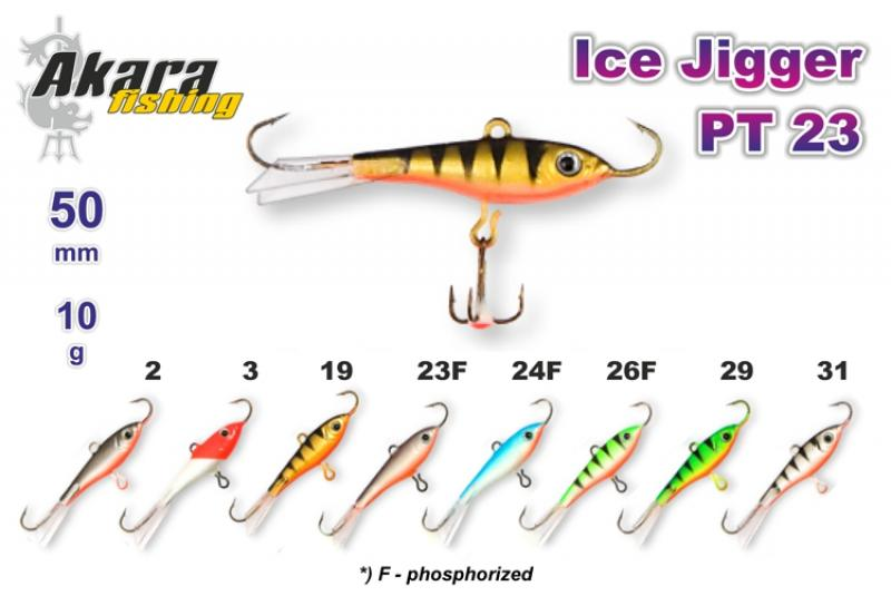 Talilant «Ice Jigger PT» 23 50mm 10g 3