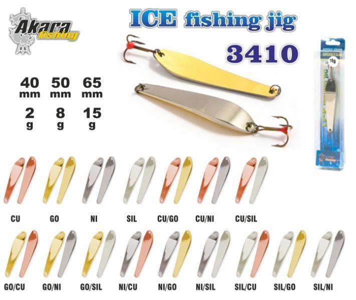 Talilant «Ice Jig» 3410 50mm 8g GO/CU