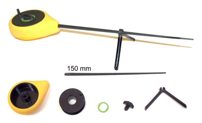 Taliritv ST-FS 21(28)cm rull 40mm kollane