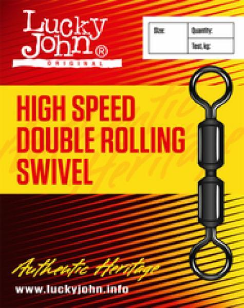Karabiin LJ High Speed Double Rolling Swivel K30