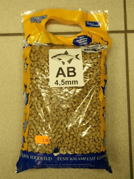 Graanul AB 4.5mm 1kg