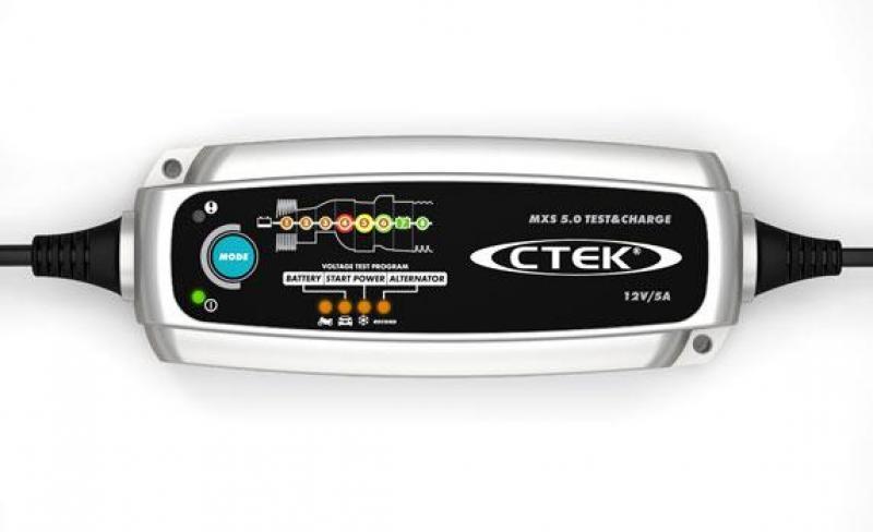 Akulaadija CTEK MXS 5.0 Test&Charge