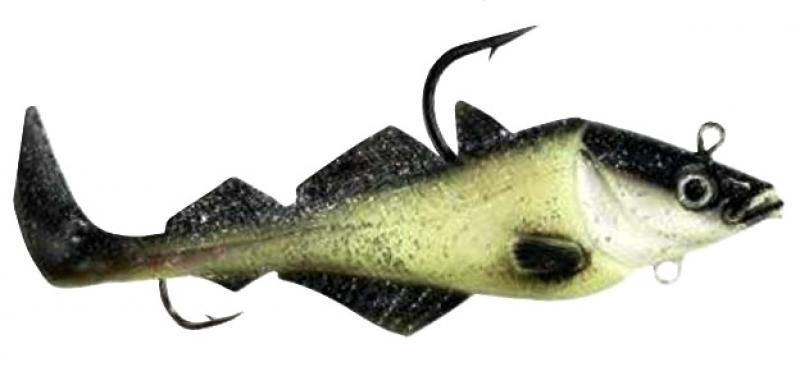 Komplekt Balzer Mad Shad Coalfish luminous 300 g