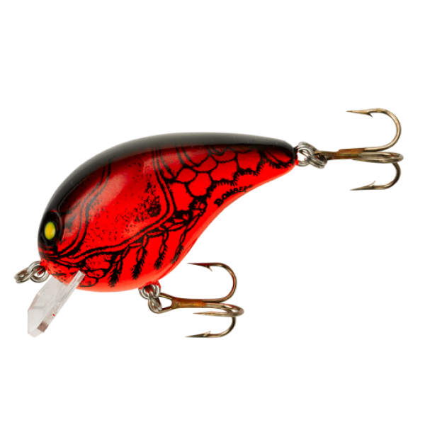 Bomber Square A Red Apple Crawdad 5cm/10g 0-1m