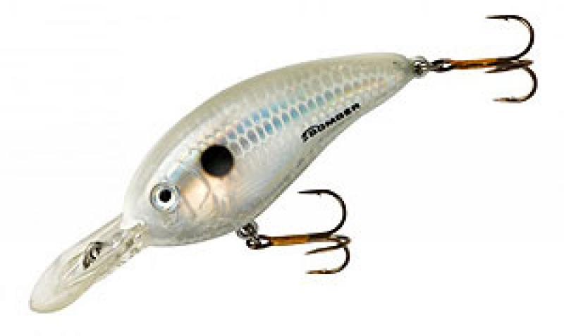 Bomber Fat Free Shad Guppy Dances Pearl 6.09cm/10.5g 1.3-2m