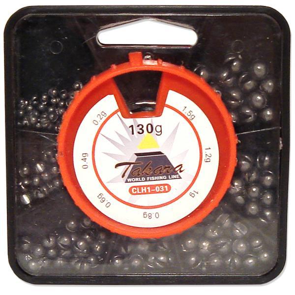Tinahaavlite komplekt 130g 0.2-1.5g