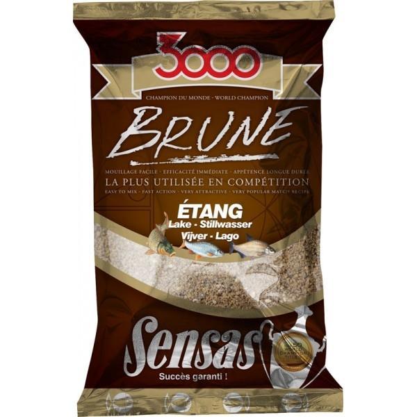 Sensas 3000 Brune Järv (pruun) 1kg
