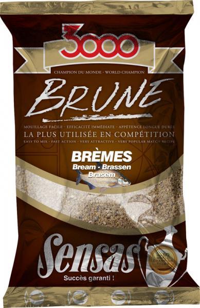 Sensas 3000 Brune Bream Latikas (pruun) 1kg